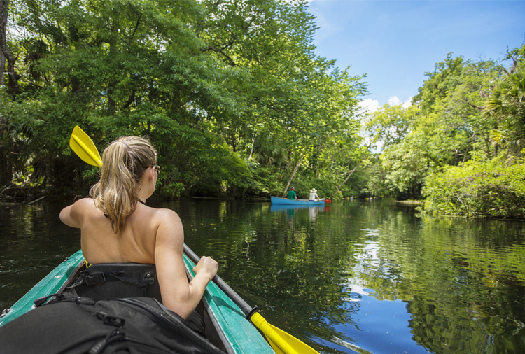 5 Excellent Places for Beginners to Kayak in Florida