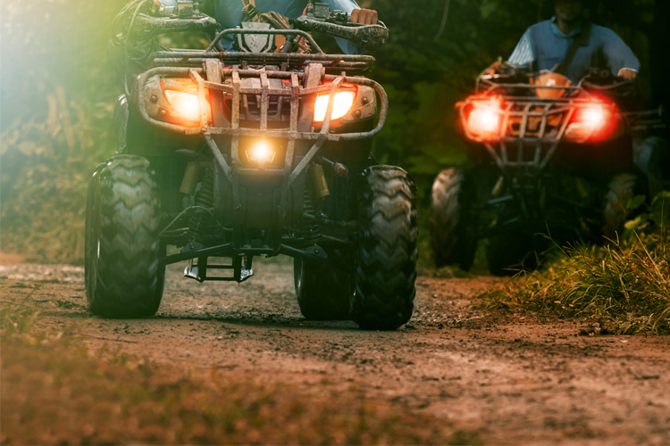 ATV Off-Roading Adventure at Top Trails