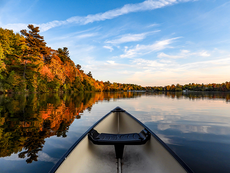 7 Colorful Canoe Trips to Try This Fall