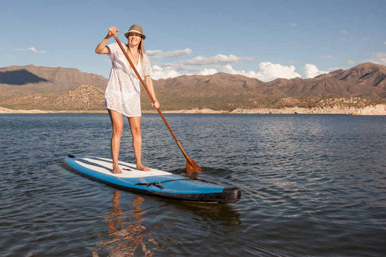 5 Great Paddleboarding Spots in Arizona