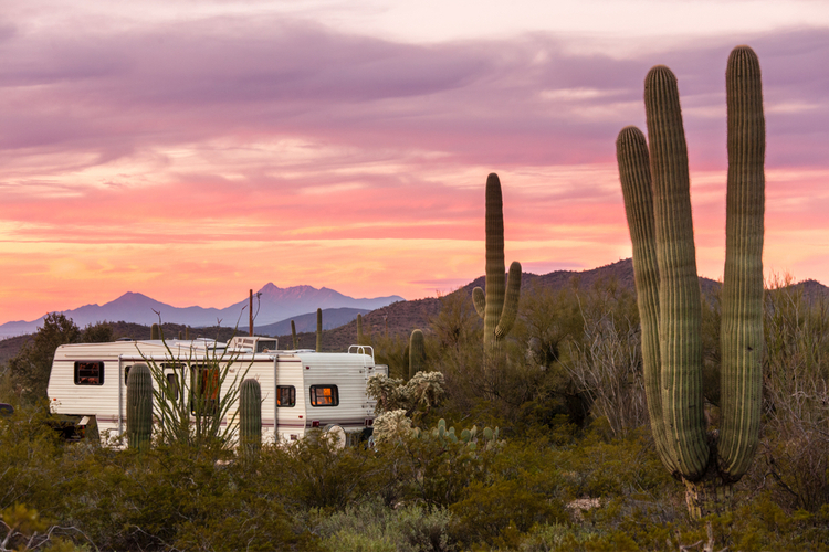 5 Awesome RV Campsites in Arizona