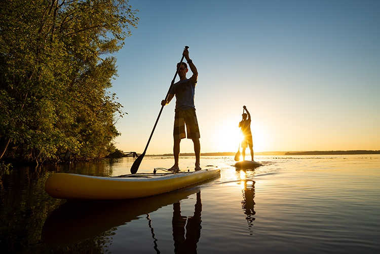 Backcountry SUP: 6 Beautiful Destinations to Paddle