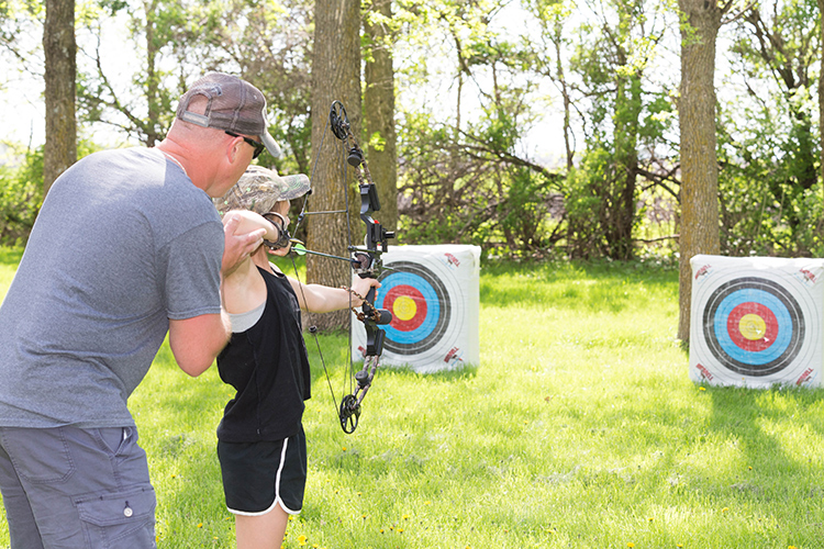 Practice at Home: How to Build a Backyard Archery Range
