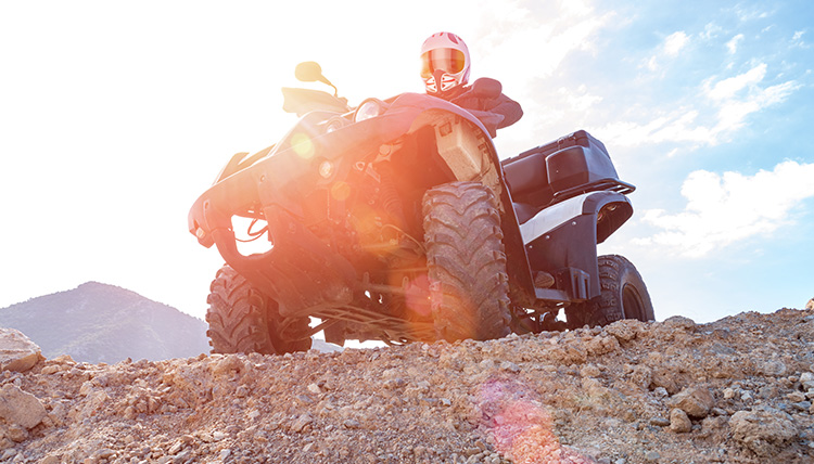 5 Cool Spots for ATV Off-Roading in California