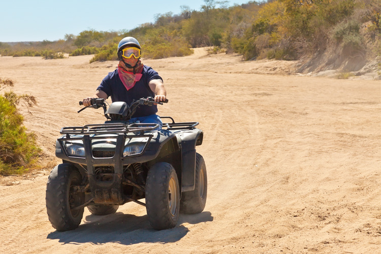 ATV Off-Roading Adventure at Johnson Valley OHV Area