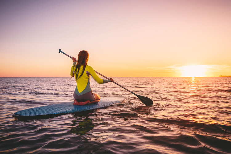 5 Great Paddleboarding Spots in California