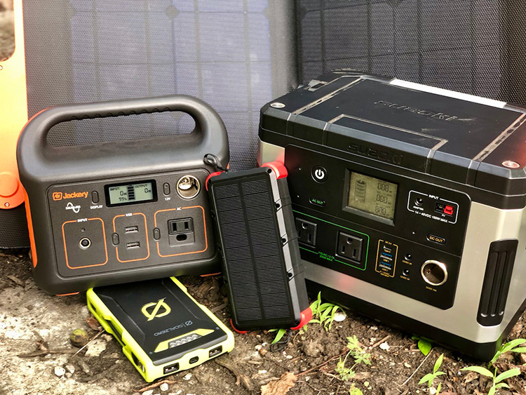How to Charge Your Gadgets While Camping and Hiking