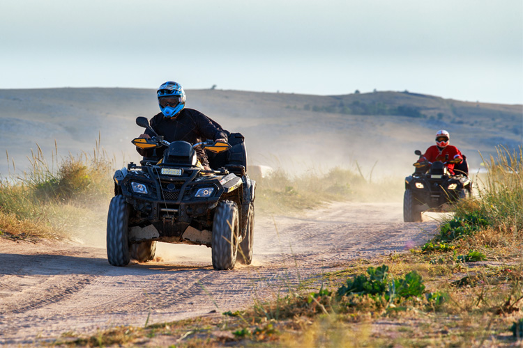 ATV Off-Roading Adventure at Wagon Wheel Trail System