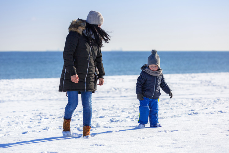 Best Winter Weekend Getaway at Delaware Seashore State Park