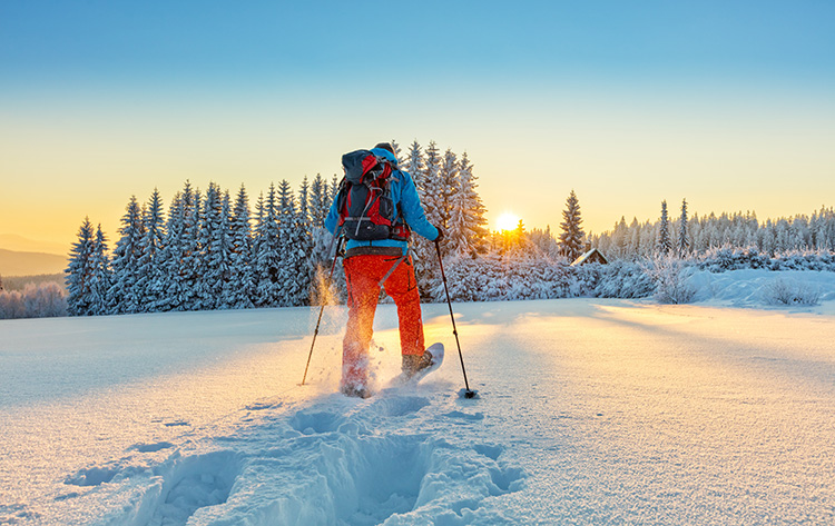 Snowshoeing: Get Your Family Started The Easy Way