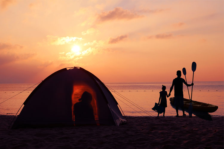 5 Gorgeous Beach Campsites in Florida
