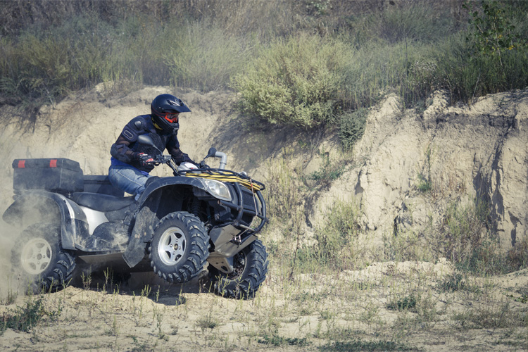 ATV Off-Roading Adventure at Lazy Springs Recreation Park