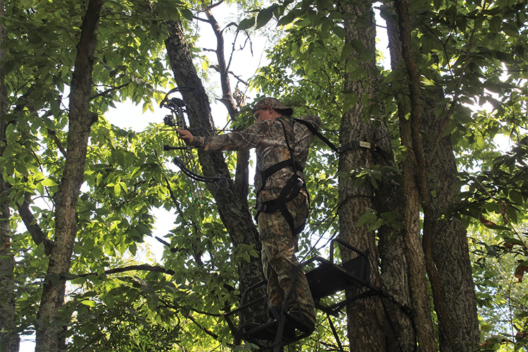 Treestand Safety for Young Hunters