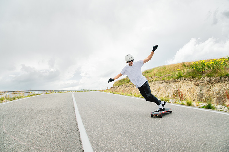 WATCH: Downhill skateboarders take the ride of a lifetime