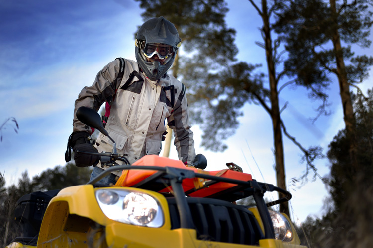 ATV Off-Roading Adventure in Beartown State Forest