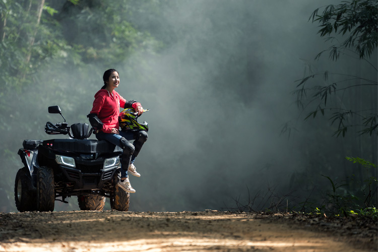 ATV Off-Roading Adventure at Jugtown Forest
