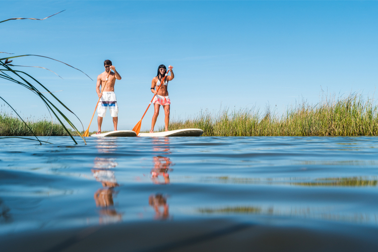 5 Great Paddleboarding Spots in Maine
