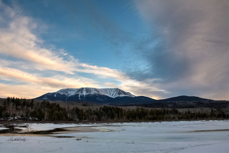 Best Winter Weekend Getaway in at Baxter State Park