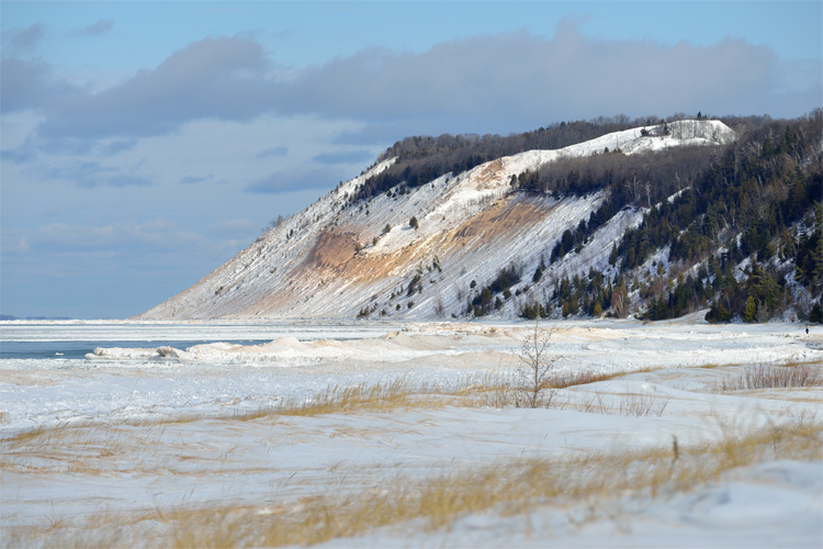 Best Winter Weekend Getaway at Sleeping Bear Dunes National Lakeshore
