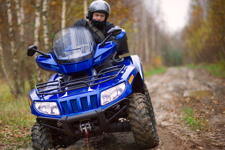 ATV Off-Roading Adventure at Soo Line South Trail