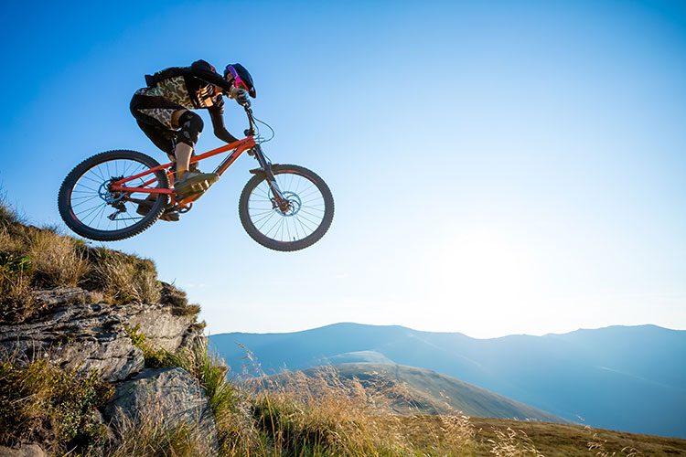 WATCH: Mountain biker plummets 30 feet in epic crash