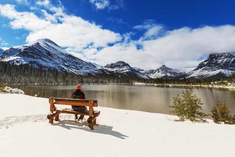 Best Winter Weekend Getaway in Glacier National Park