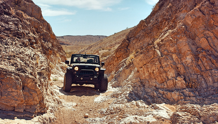 7 Great 4x4 Areas in and Around National Parks