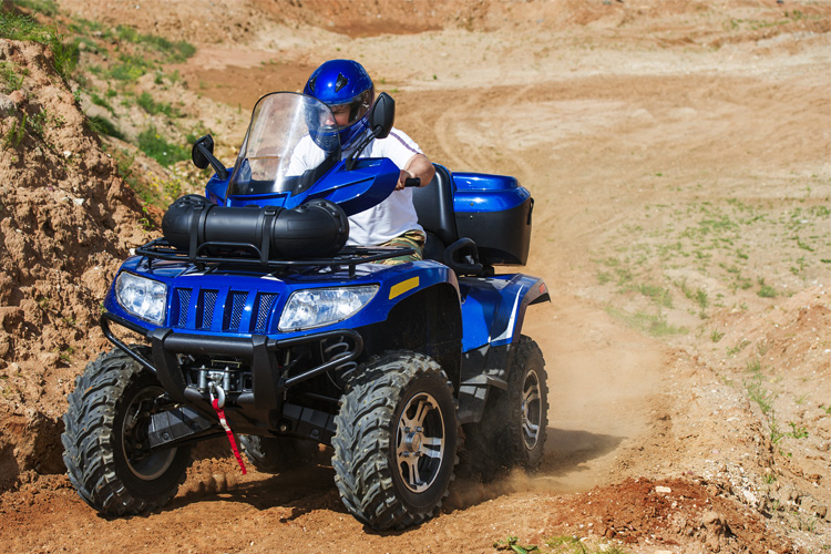 ATV Off-Roading Adventure at Red Sands OHV Area