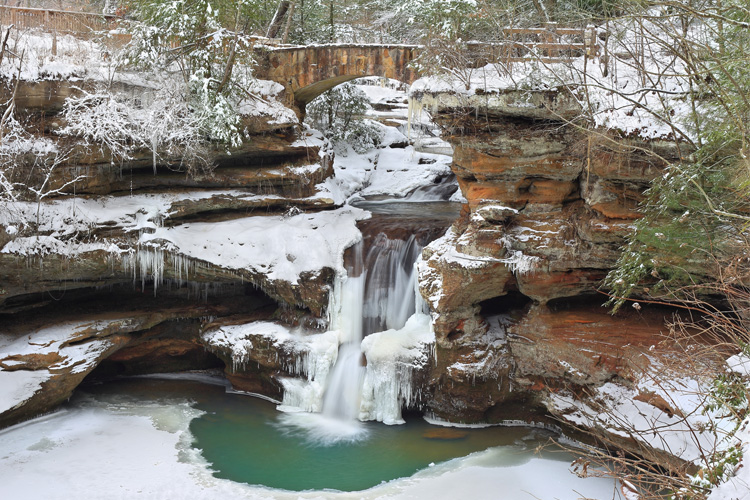 Weekend Winter Getaway in Hocking Hills State Park