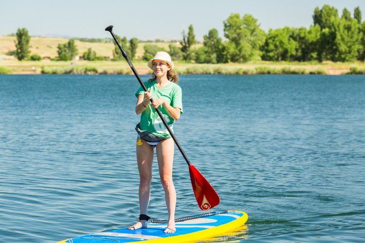 5 Great Paddleboarding Spots in Oklahoma