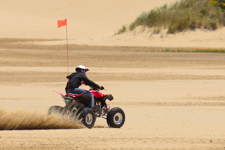 ATV Off-Roading Adventure at Sand Lake Recreation Area