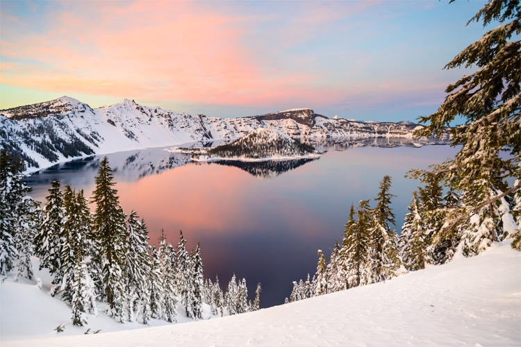 Best Weekend Winter Getaway at Crater Lake National Park