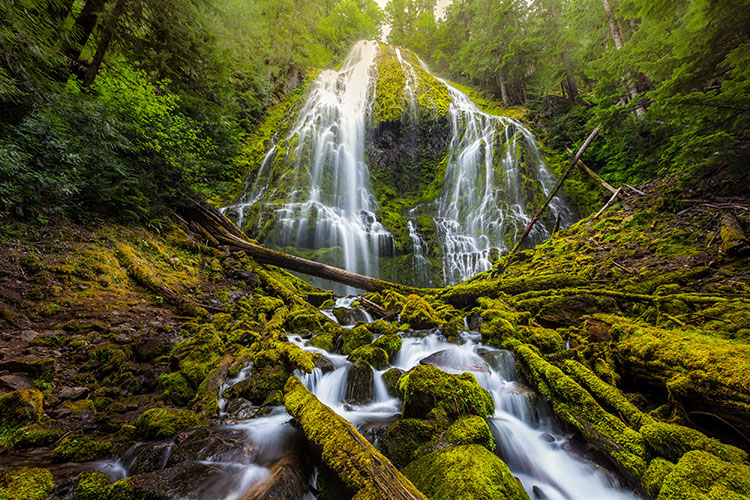 This Dreamy Oregon Waterfall Will Transport You to a Fairytale
