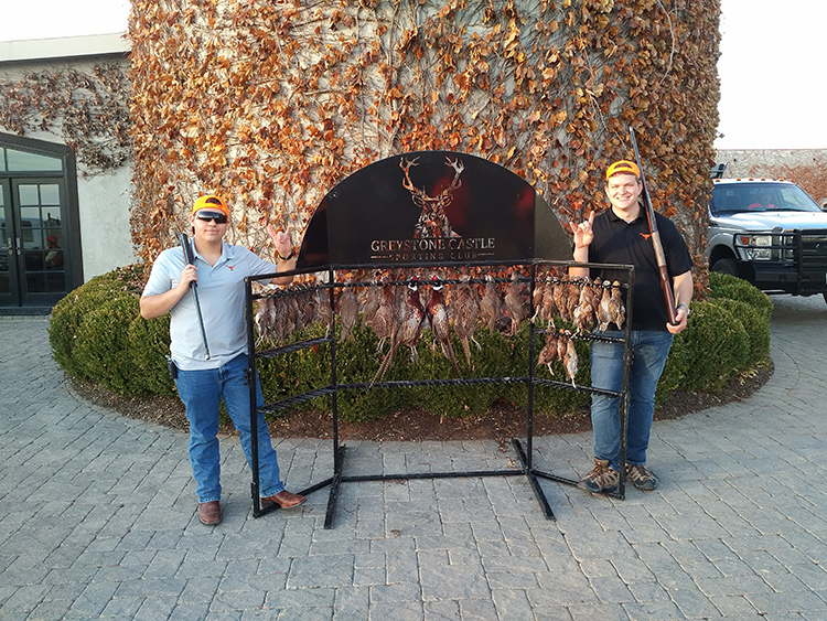 2020 Quail Hunting Fundraiser at Greystone Castle in Mingus, Texas