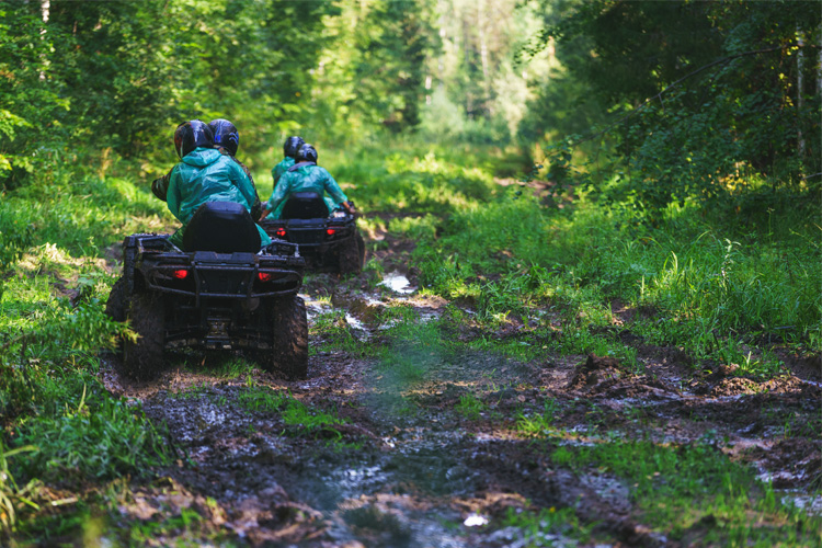 ATV Off-Roading Adventure at Enoree OHV Trail