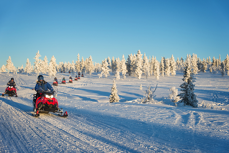 5 Rugged Snowmobiling Destinations to Visit This Winter