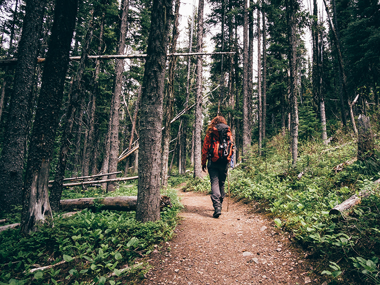 How to Maintain Social Distancing While Hiking