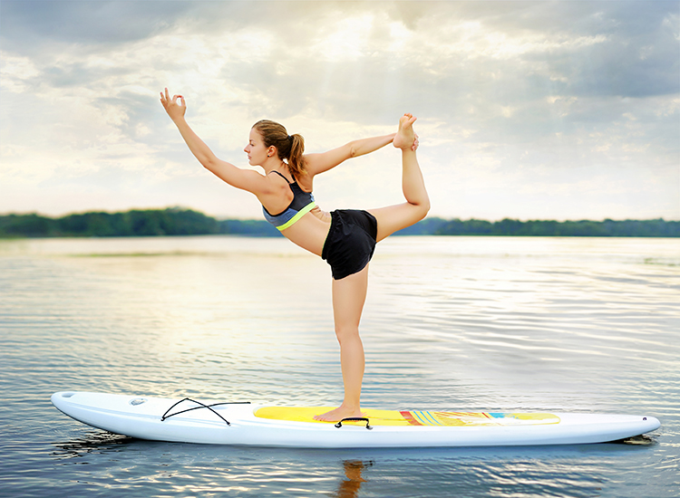 Everything You Need to Know About SUP Yoga