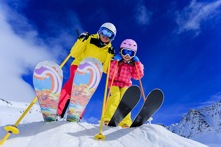 How To Raise Your Kids To Be Expert Skiers
