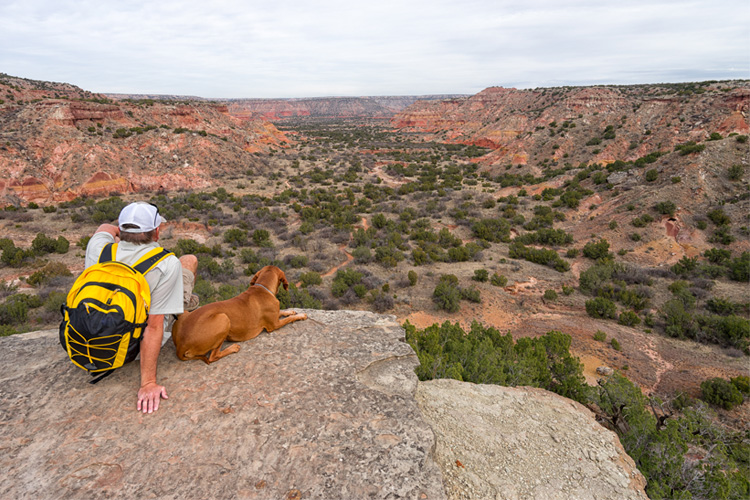 5 Beautiful Backpack Camping Spots in Texas