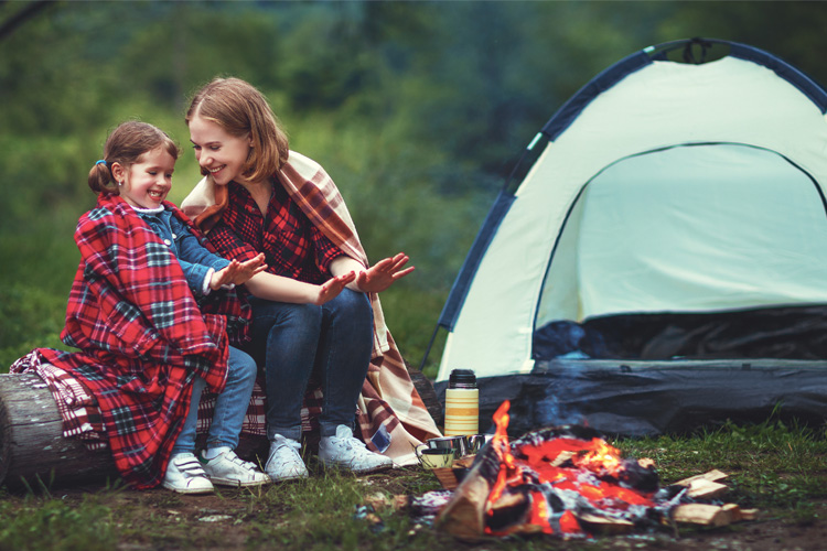 Preparing for fall camping