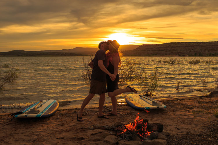 5 Gorgeous Beach Campsites in Utah
