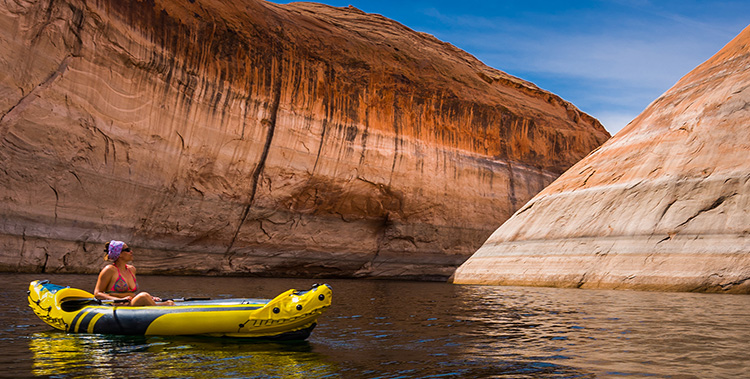5 Excellent Places for Beginners to Kayak in Utah