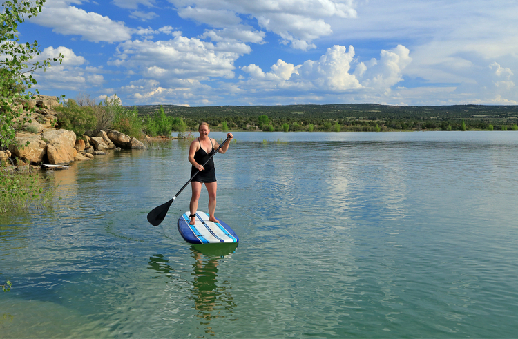 5 Great Paddleboarding Spots in Utah