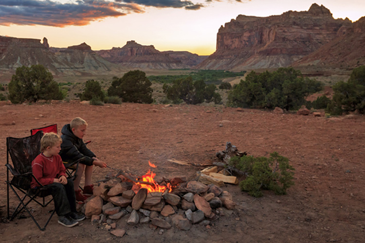5 Perfect Fall Camping Spots in Utah