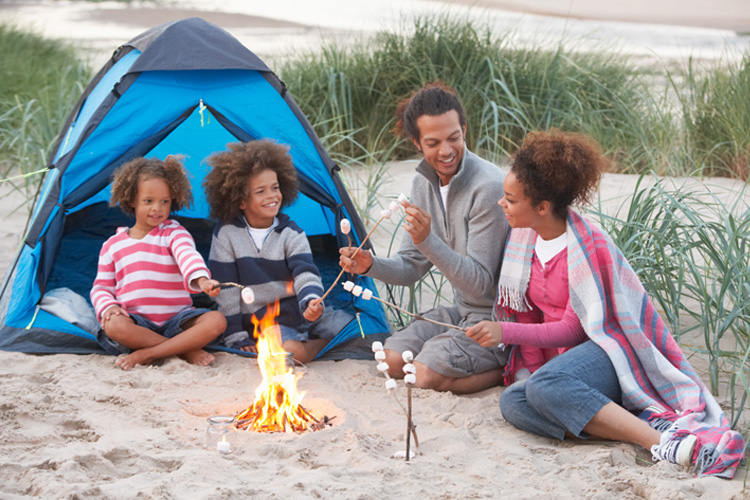 5 Gorgeous Beach Campsites in Virginia