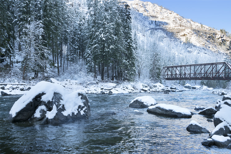 Best Winter Weekend Getaway at Lake Wenatchee State Park