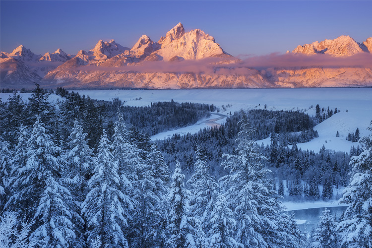 Best Winter Weekend Getaway in Grand Teton National Park
